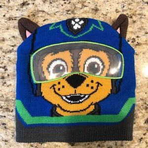 Paw Patrol Chase Kids Winter Hat One Size